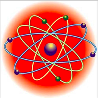 AR trigger for a chemistry lesson about electrons