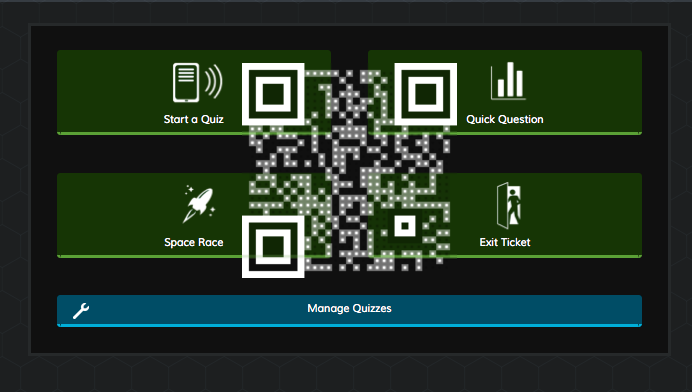 QR Code Shortcut to Socrative Beta