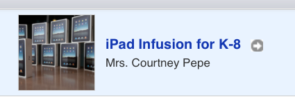 New iTunes U Course Elementary and Middle School PD