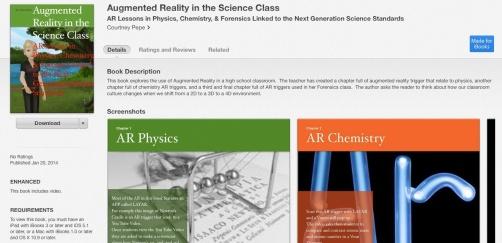AR science book