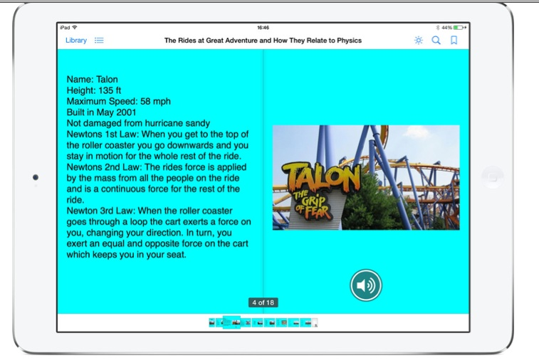 Student Ownership of the Learning Process in Book Creator