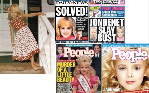 AR Trigger Made From Tabloid Headlines in Jon Benet Ramsey Case