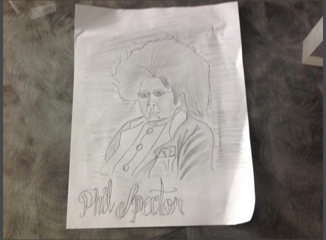 AR to Phil Spector iMovie/Tellagami