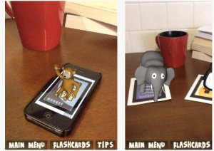 AR flashcards two