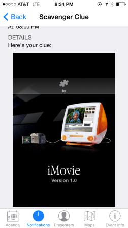 iBeacon Clue from ADE2014 Institute