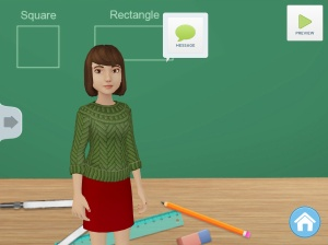 Use of Tellagami to Teach CCSS