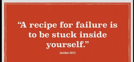 A recipe for failure i